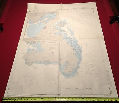 Defense Mapping Agency Nautical Chart Martinique West Indies South & East Coast