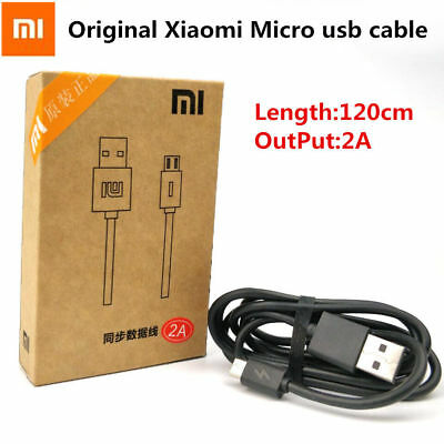 Original Xiaomi Redmi Note 4 4X 5A Micro USB Cable Fast Charger Data Cable Cord