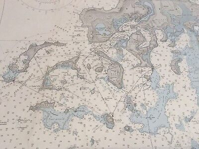 Nautical Chart Used In Expedition To Tonga Islands Secret Mariners Cave Location