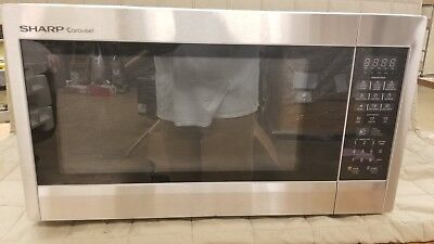 Sharp R651ZS Sensor Microwave (2.2 cu.ft.), 1200W Countertop, Stainless Steel