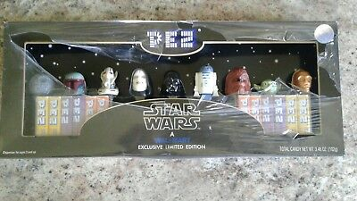 Star Wars Pez Collector's Set Limited Edition-2005