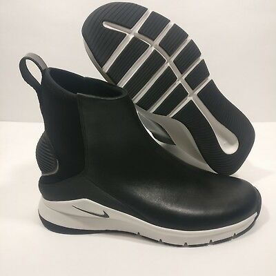 WOMENS NIKE RIVAH Hi PRM AA1112-001 Black White High Boot Premium Size 9