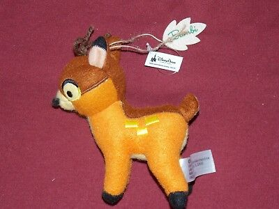 Custom Bambi GREAT PRINCE of FOREST Ornament PVC Disney