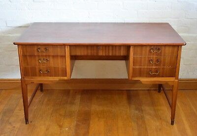 Vintage retro double sided writing desk.