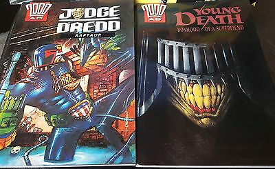 Collectable 2000AD JUDGE DREDD graphic comics - SPECIAL EDITION - mint condition