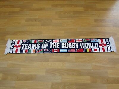 ENGLAND Teams of the RUGBY Union World Cup 2015 Scarf