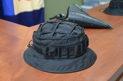 "Original Russian M45, Boonie hat Scout ""Black"" Color, Cap, Ripstop, New"