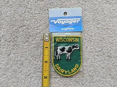 WISCONSIN Voyager Travel Souvenir Patch - Brand New - Free Shipping