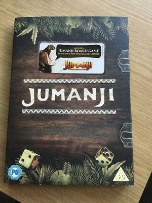 Jumanji DVD Special Edition with Board Game - BNWT Unopened