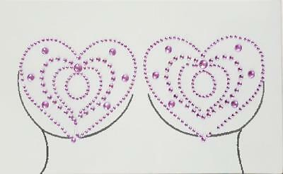 paire bijou intime stiker téton pasties nipple stickers temporaire reutilisable