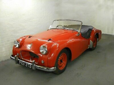 Ex-Works/Factory Triumph TR2 - Perfect for Classic Le Mans and Mille Miglia.
