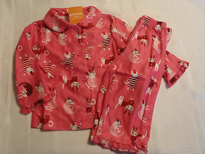 8d993717b HANNA ANDERSSON PJ Kitty Baby Sleeper Pure Organic Cotton size 12 18 ...
