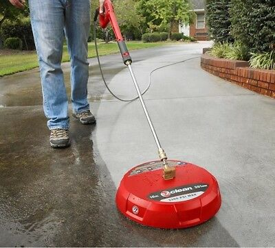 15 in. EZ Clean Gas Surface Cleaner Scrubber Pressure Washer Patio Driveway