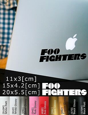 Foo Fighters Logo Rock Band Group Car Sticker Music Rockband Auto Aufkleber