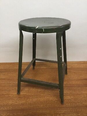 Superb Vintage Industrial Stool Mid Century Lab Stool Metal Shop Beatyapartments Chair Design Images Beatyapartmentscom