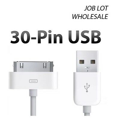 150 x 1m 30Pin USB SYNC DATA CHARGER CABLE FOR iPhone 4 4S iPod - WHOLESALE