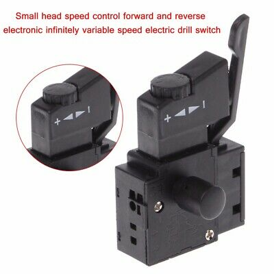 FA2-6/1BEK Lock on Power Electric Drill Speed Control Trigger Button Switch DIY