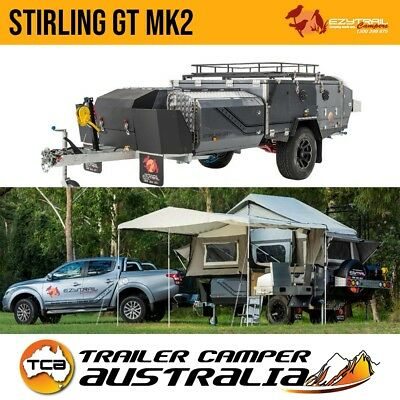 Ezytrail Stirling GT Mk2 Off Road Hard Floor Camper Trailer