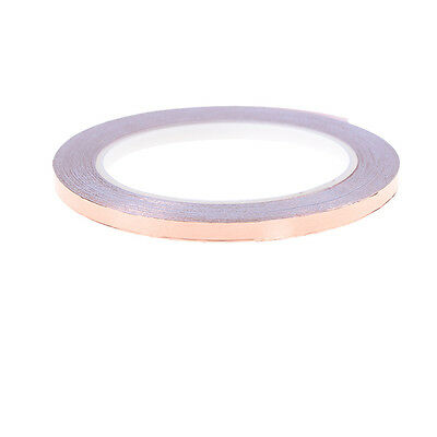 6mm x 20m Single Face Adhesive Electric Conduction Copper Foil Tape _UK
