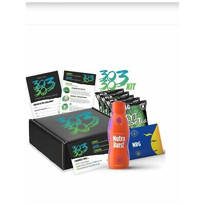 New TLC Iaso 30303 Get fit Kit (NRG, Nutraburst, 4weeks-4PACK Iaso Tea) SALE