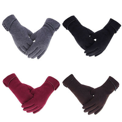 Fashion Winter Touch Screen Fingers Gloves Woman Thick Warmest Windproof Gloves