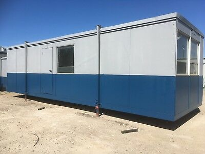 32ft  OFFICE/CANTEEN Steel Clad Container FOR HIRE - Lancashire