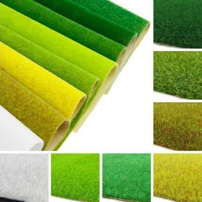 Model Grass Sheets Cosy Mat Wargame Scenery Railway Architecture Terrain Durable
