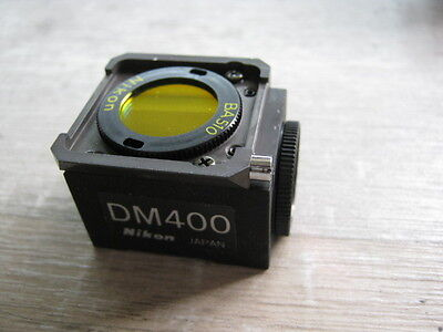 Nikon DM400 Fluorescence Filter Cube Optiphot Labophot Diaphot
