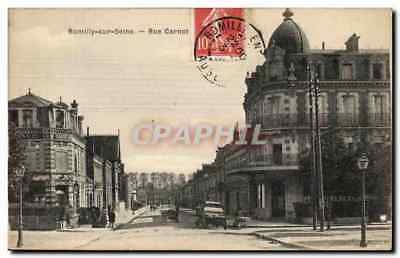 Romilly sur SEine CPA Rue Carnot