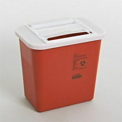 LOT OF 10!! SHARP 2 Gallon Container Disposal Doctor tattoo home Sharps *DEAL*