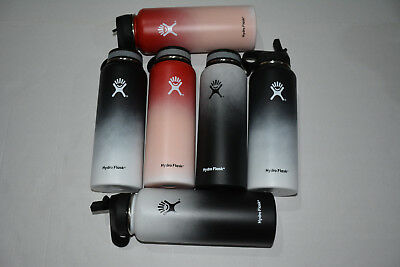 Hydro Flask 40oz Stainless Steel Sport Water Bottle Cup Insulated Wide Mouth Lid