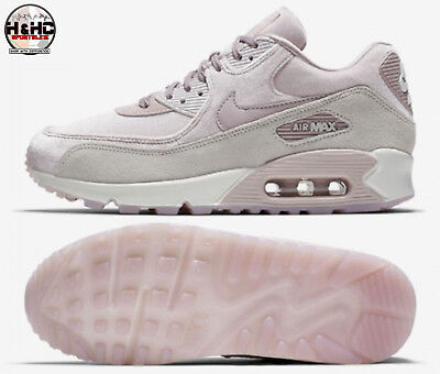 Nike Air Max 90 LX 898512 600 (Velvet Suede) Particle Rose Women s Shoes 1cbcea100