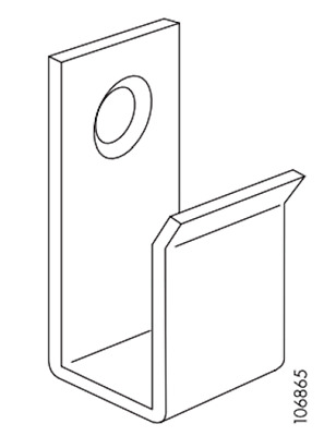 Ikea Holding Angled Support Used for Karlstad Sofa PART # 106865
