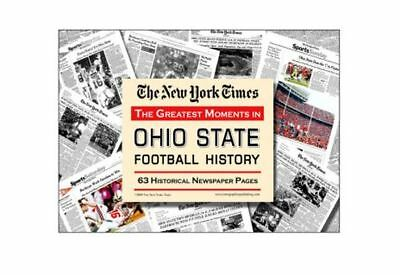 The Greatest Moments in Ohio State Buckeyes Football History by the NY Times