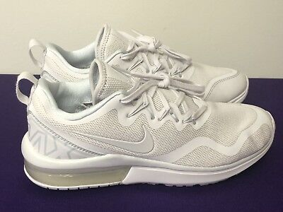 132e7f9ffe46b2 Nike Air Max Fury White Vast Grey Platinum AA5740-100 Women s Shoes Size 8