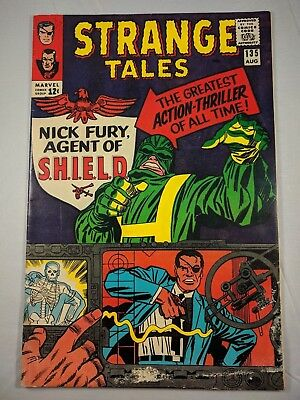 Strange Tales #135 (1965 Marvel) [VG/FN] Nick Fury becomes Agent of Shield! Wow!