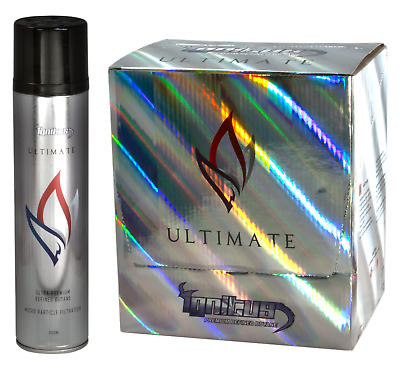 Ignitus Ultimate - 6 Cans 300ML - Ultra Premium Refined Butane Micro Particle