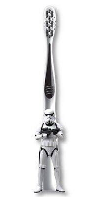 Firefly - Star Wars - Storm Trooper - 3D Sculpted Handle Soft Toothbrush