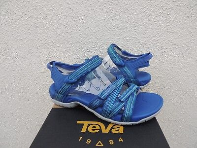 5e96b2d42 TEVA TIRRA BLUE Multi Strappy Sport  Water Sandals
