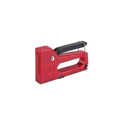 Task 944989 4-8 mm Staple Gun with 100 Staples Stapling Upholstery Crafts Red