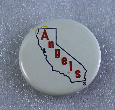 "Vintage California Angels  2"" Pinback Button"