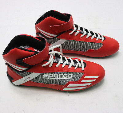 SPARCO Kart Racing BABY SHOES Mercury KB-3 RED Karting High Top Boots Race  NEW