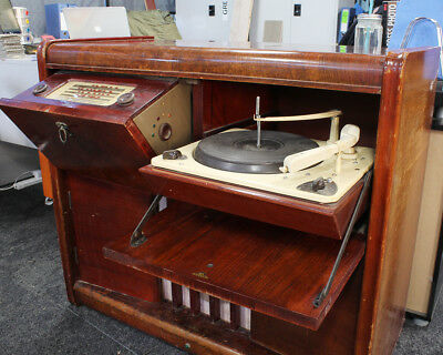CHEAP! Used Second Hand Antique Vintage Retro Radiogram Vinyl Record Player