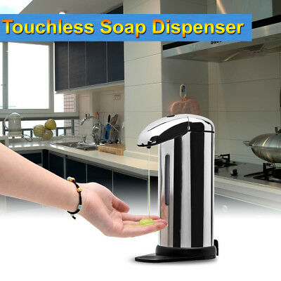 500ml Automatic Soap Dispenser with Built-in Infrared Smart Sensor for Kitchen B