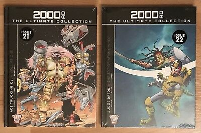 2000AD The Ultimate Collection 21 & 22 - Ace Trucking Co. & Judge Dredd 2000 AD