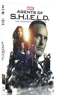Marvel Agents of SHIELD Fifth Season 5 (DVD, 5-Disc)  NEW & SEALED!!