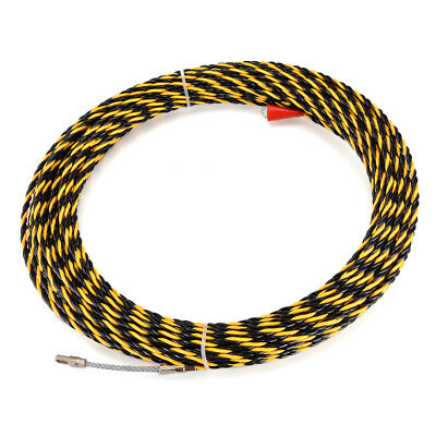 6.5mm*30m Cable Push Puller Conduit Snake Cable Rodder Fish Tape Wire Guide DIY