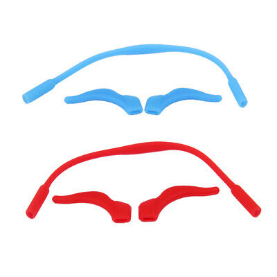 MAGIDEAL 2 PCS Silicone Eye Lunettes cordon sangle Sports lunettes ... 0d9b2a09b016