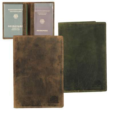 Id Card Case Leather Id Card Wallet Case Also for Note Book Greenburry