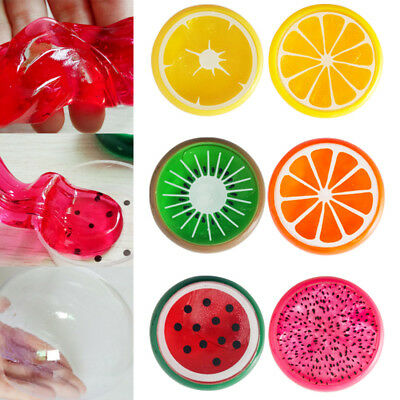 Gift Fruit Mud Soft Jelly Creative Putty Plasticine Slime Crystal Clay Kids Toy